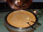 Schweinefiletmedaillons in Rahmsoße mit Spargel und Pilzen (Filettopf)